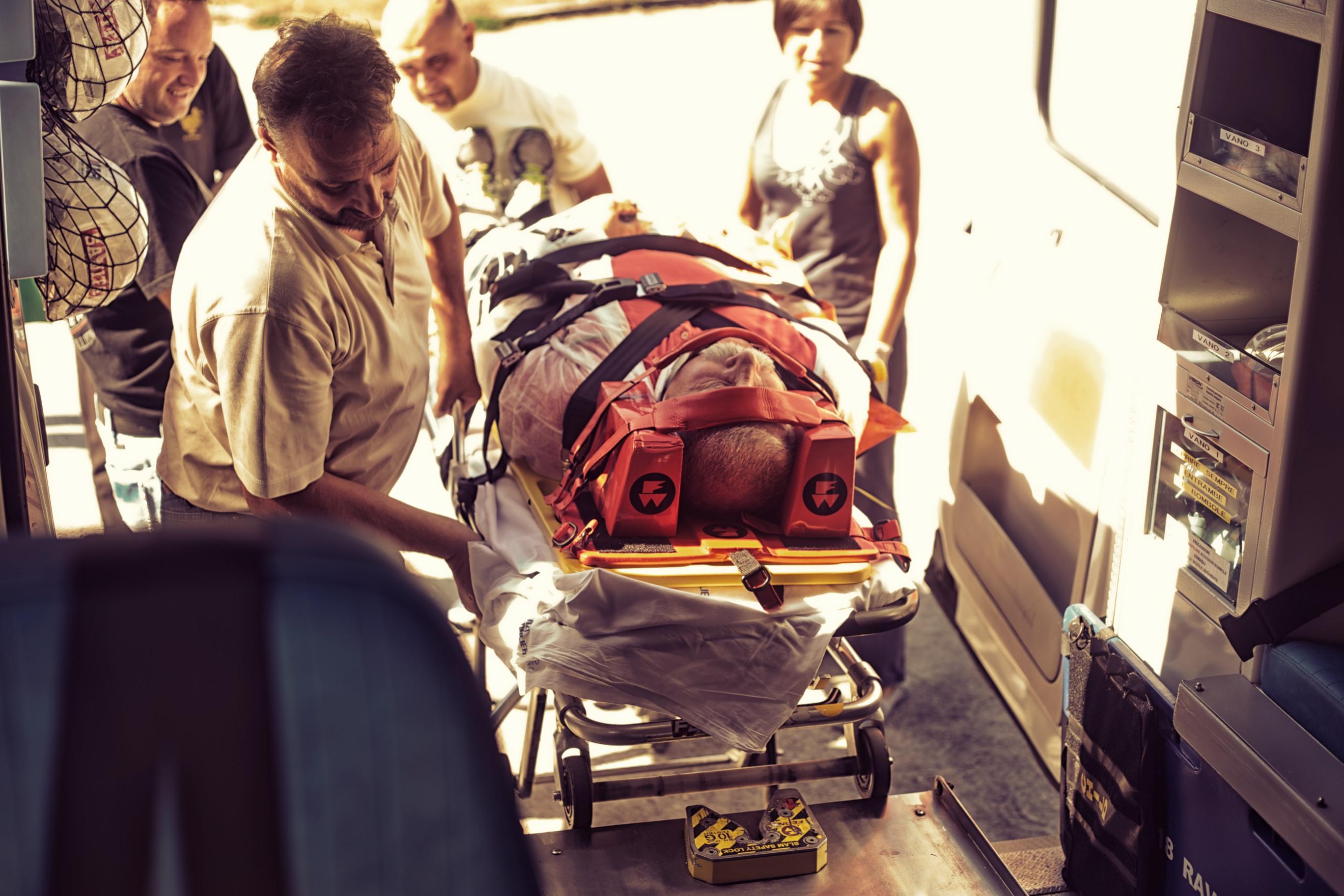 Esercitazione pratica paziente traumatizzato