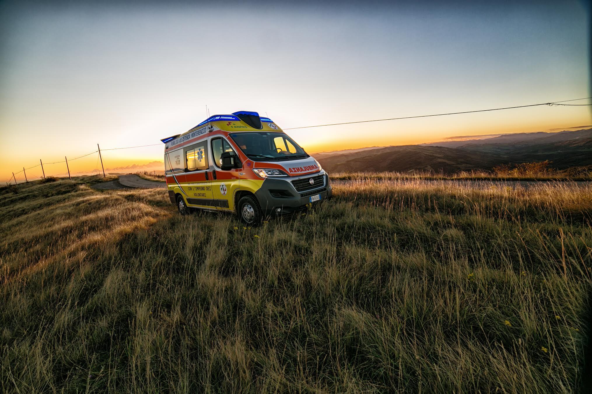 Pubblica Assistenza Monterenzio ambulanza